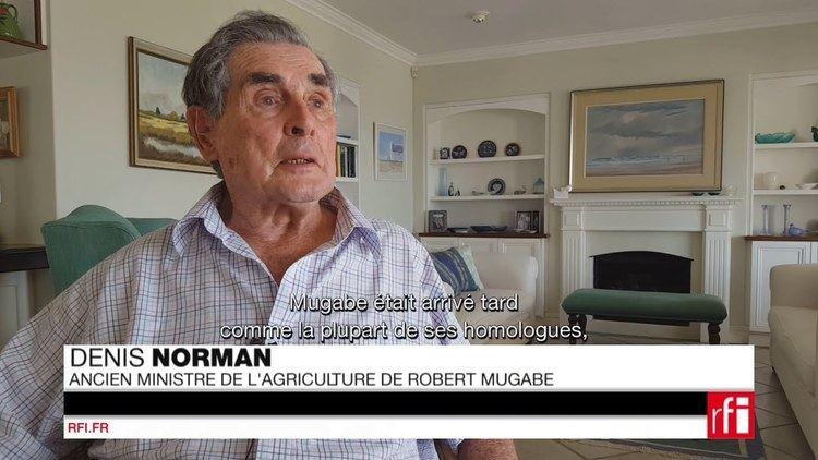 Denis Norman La raction de Mugabe la dmission de Thatcher Denis Norman