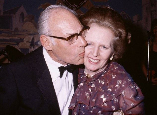 Denis Thatcher Margaret Thatcher The cruel dimming of her mental powers