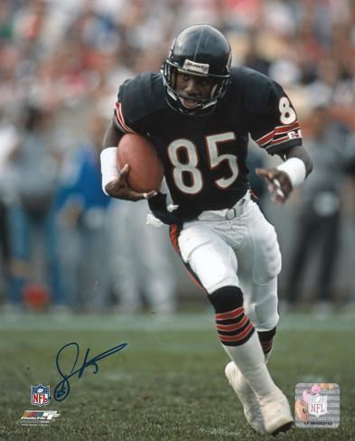Dennis McKinnon Dennis McKinnon Chicago Bears Autographed Photo Hand