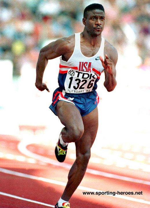 Dennis Mitchell Dennis MITCHELL 100m bronze medalist at three Major
