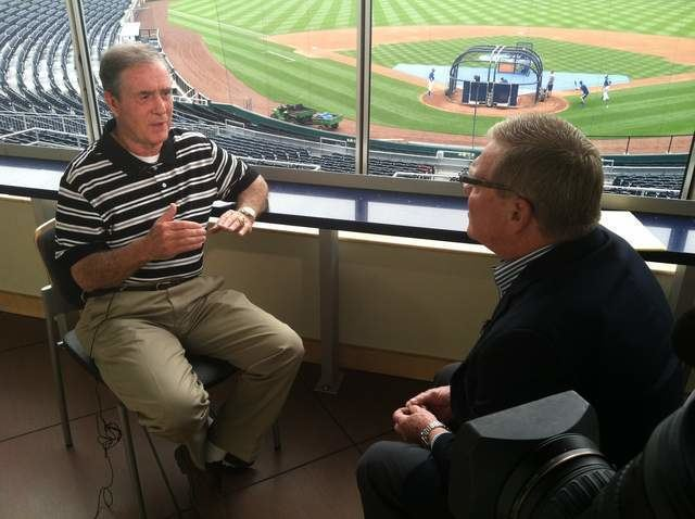 Denny Matthews Sportscaster Denny Matthews on his career future and love for the