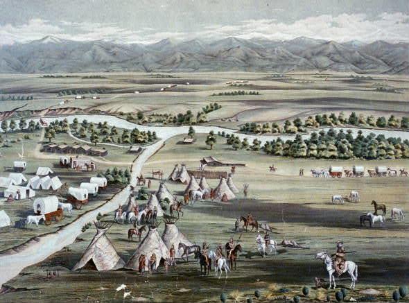 Denver in the past, History of Denver