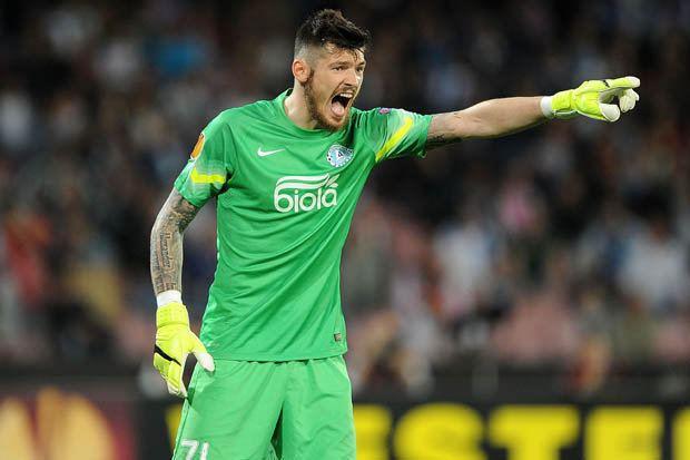 Denys Boyko Dnipro star Denys Boyko is eyeing Europa League glory