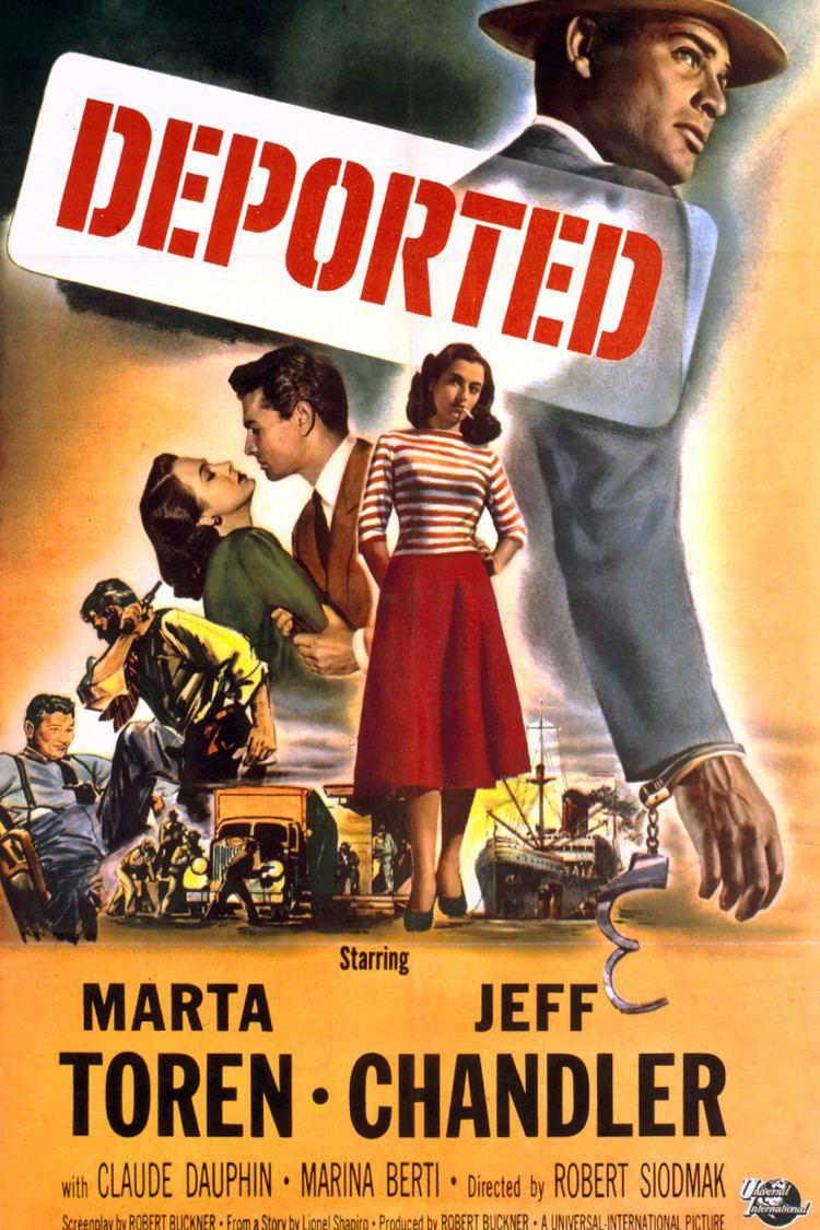 Deported (film) wwwgstaticcomtvthumbmovieposters39757p39757