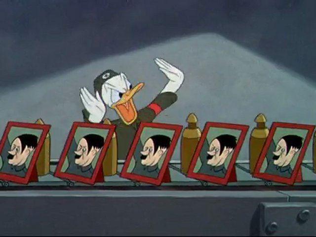Der Fuehrer's Face Donald Duck Der Fuehrers Face 1943 Video Dailymotion