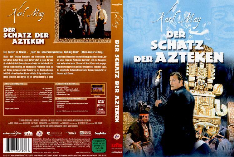 Der Schatz der Azteken Der Schatz der Azteken dvd cover 1965 R2 German