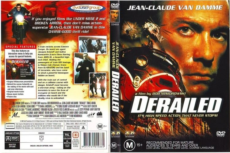 Derailed (2002 film) Derailed 2002 WS R4 Movie DVD CD Label DVD Cover Front Cover