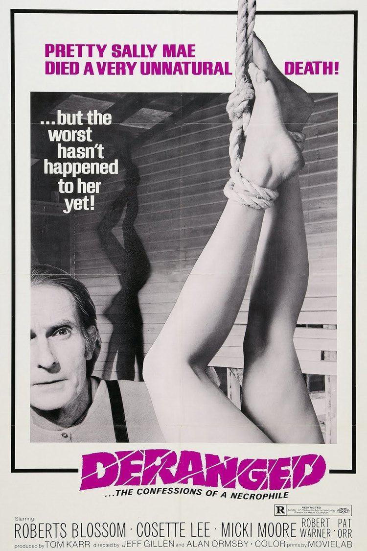 Deranged (1974 film) wwwgstaticcomtvthumbmovieposters62604p62604