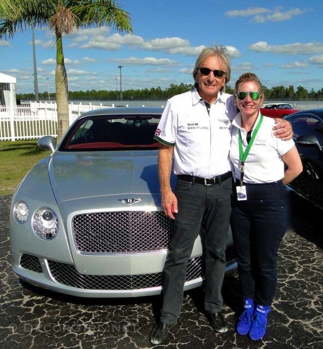 Derek Bell (racing driver) Driving Dream Date Derek Bell and Bentley Decor Girl