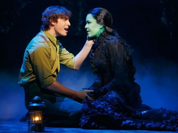 Derek Klena Wicked Show Photos Broadway Wicked and Musical theatre