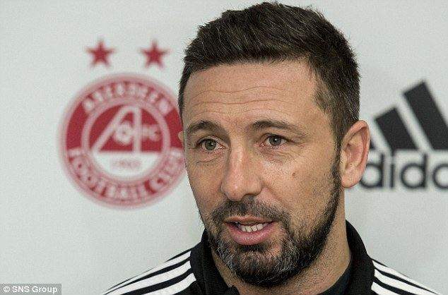 Derek McInnes Aberdeen boss Derek McInnes urges his team to focus on