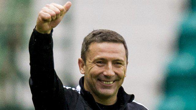 Derek McInnes BBC Sport Manager Derek McInnes hails Aberdeen super subs