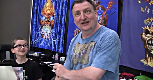 Derek Riggs Legendary Iron Maiden Illustrator Derek Riggs Interviewed By Little