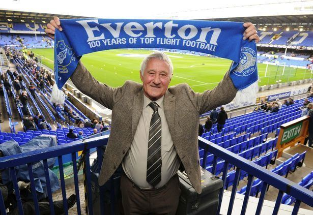 Derek Temple Everton FA Cup legend Derek Temple to be honoured at special night