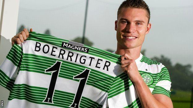 Derk Boerrigter BBC Sport Celtic39s Derk Boerrigter eyes regular starting