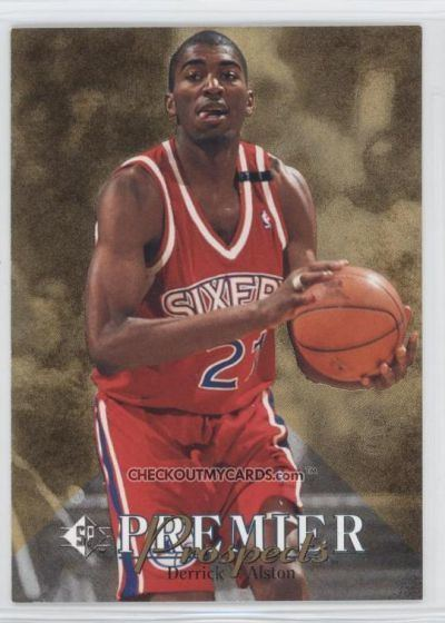 Derrick Alston Cards NBA Derrick Alston por giovannituono Baloncesto