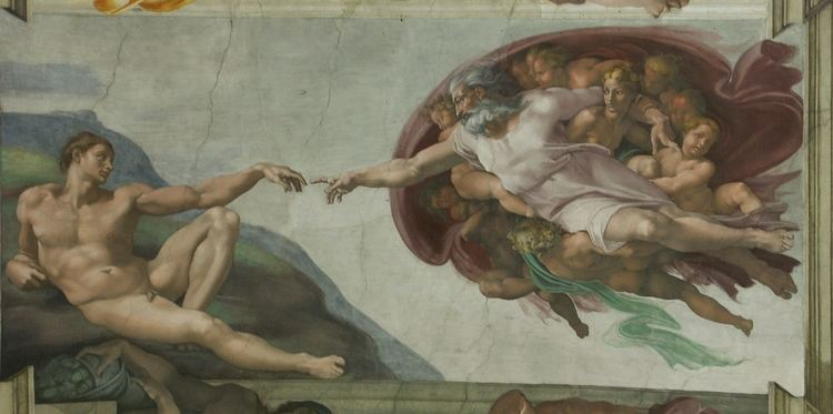 Des Adam FileRom Vatikan Sixtinische Kapelle Die Erschaffung des Adamjpg