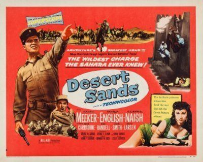 Desert Sands Desert Sands 1955 Mikes Take On the Movies Rediscovering