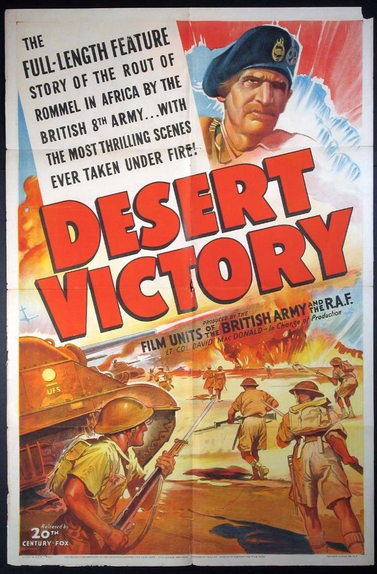 Desert Victory Complete Classic Movie Desert Victory 1943 Independent Film