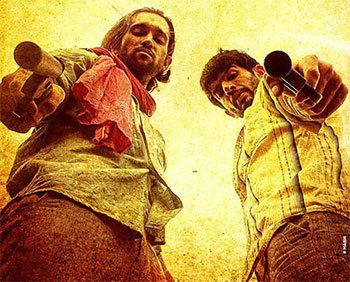 Review Desi Kattey is a giant bore Rediffcom Movies