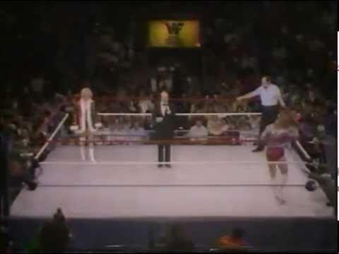 Desiree Petersen Desiree Peterson vs Judy Martin Championship Wrestling Oct 20th