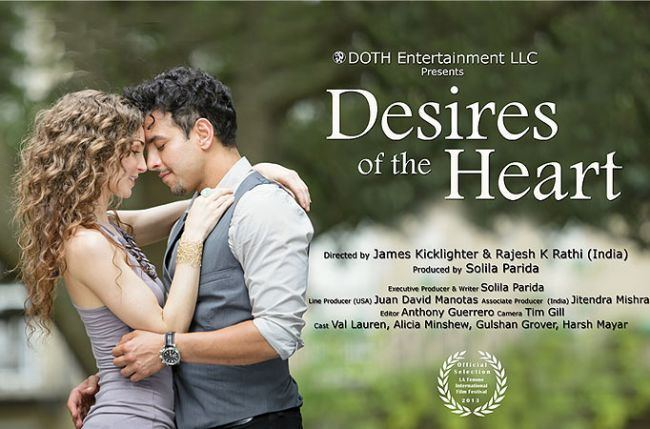 Desires of the Heart (2013 film) Desires Of The Heart wins Best Feature Film award at LA Femme Intl