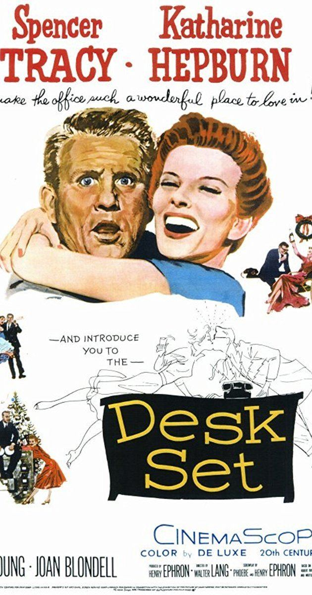 Desk Set Desk Set 1957 IMDb
