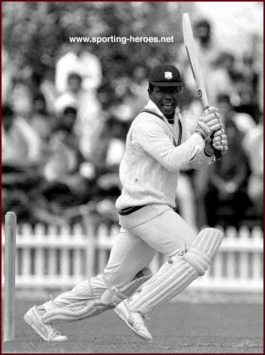 Desmond HAYNES Brief biography of his Test Career West Indies