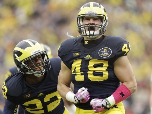 Desmond Morgan Michigan linebacker Desmond Morgan approved for 5th year