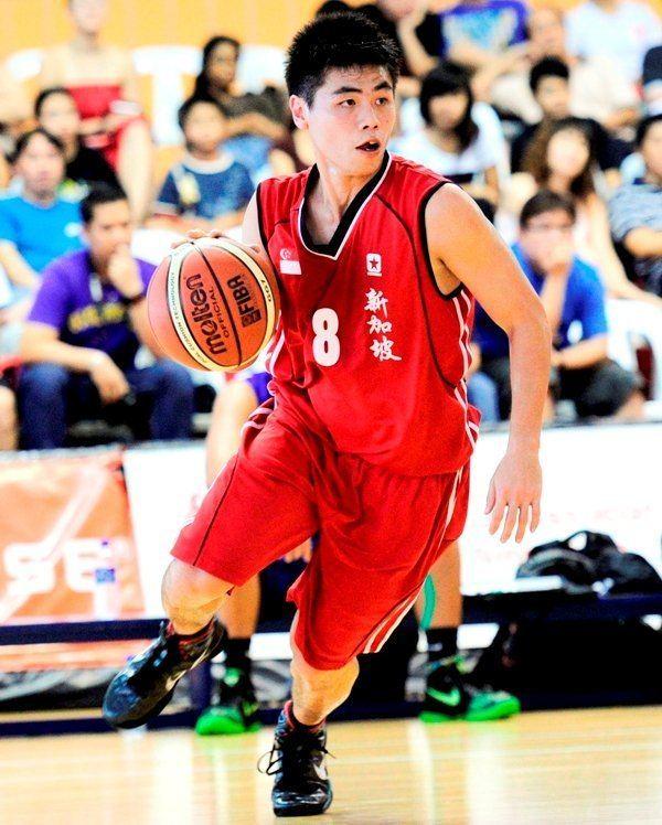 Desmond Oh Advance your basketball dribbling skills ActiveSG