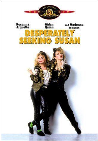 Desperately Seeking Susan Amazoncom Desperately Seeking Susan Rosanna Arquette Madonna