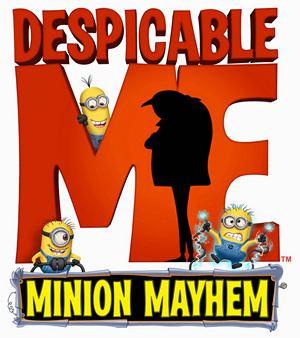 Despicable Me: Minion Mayhem movie poster