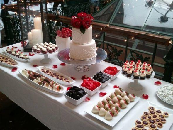 Dessert bar Which size cake works best on dessert bar Weddingbee