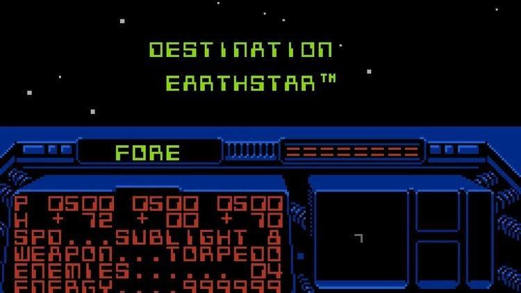 Destination Earthstar Destination Earthstar NES Gameplay YouTube