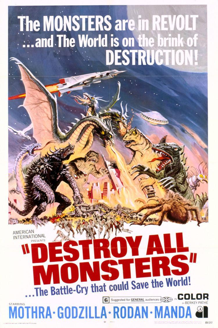 Destroy All Monsters wwwgstaticcomtvthumbmovieposters3189p3189p