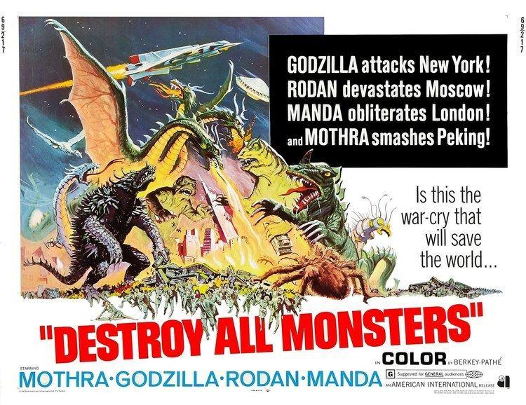 Destroy All Monsters Destroy All Monsters Fantastic Crap Comics
