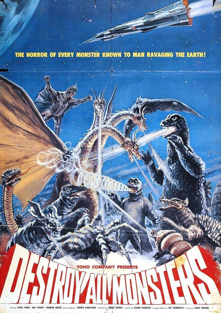Destroy All Monsters Poster for Destroy All Monsters Kaij sshingeki Monster Invasion
