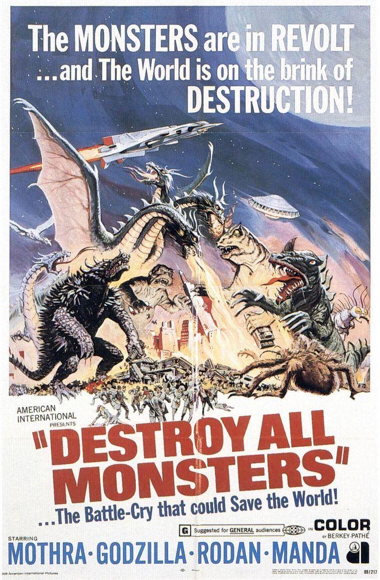 Destroy All Monsters Destroy All Monsters Movie Poster IMP Awards