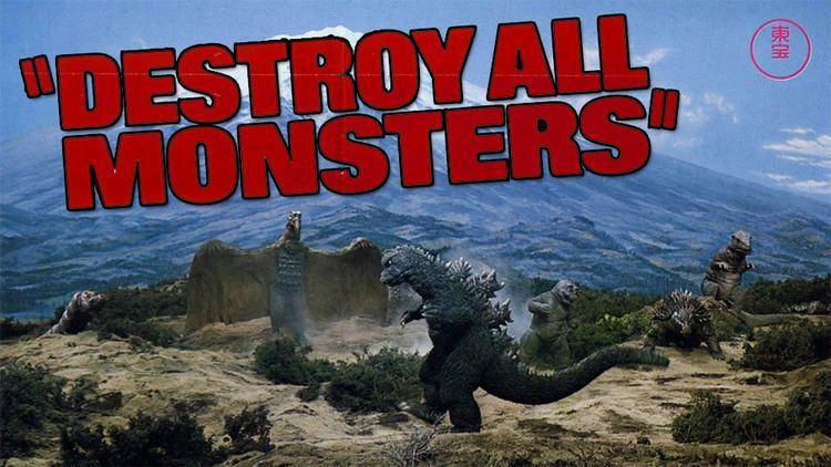 Destroy All Monsters Destroy All Monsters Godzilla Gang Gets Ghidorah