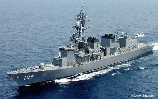 Destroyer Murasame Class Guided Missile Destroyer MilitaryTodaycom