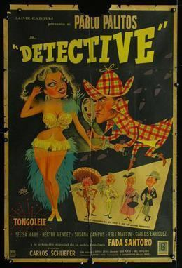 Detective (1954 film) movie poster