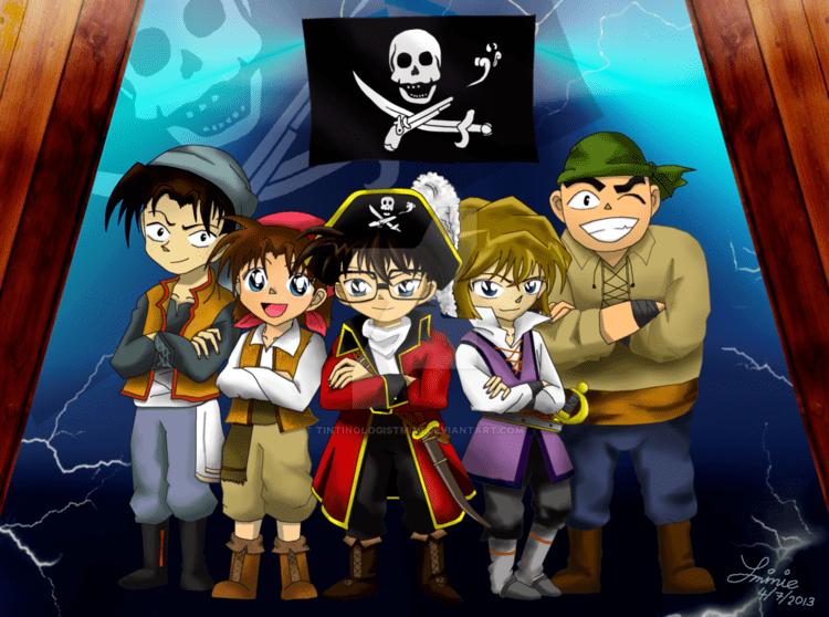Detective Conan: Jolly Roger in the Deep Azure Detective Conan Jolly Roger in the Deep Azure by tintinologistmimi