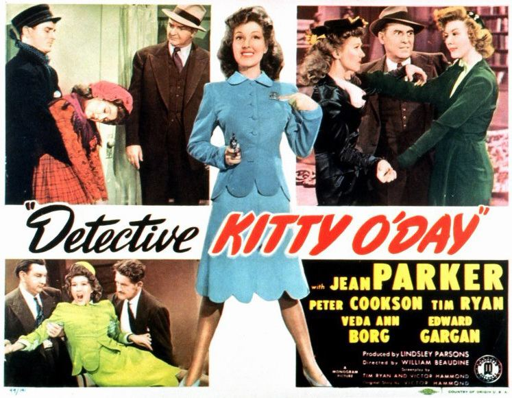 Detective Kitty O'Day Detective Kitty ODay Movie Posters From Movie Poster Shop