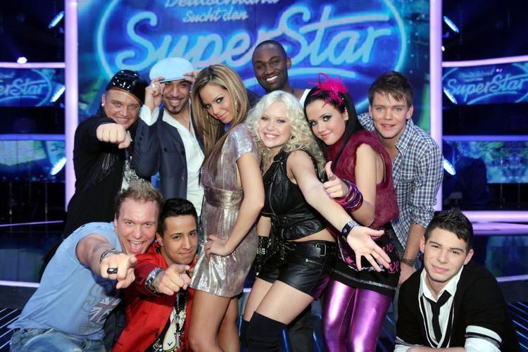 Deutschland sucht den Superstar 7 Mnner und 3 Frauen sind die Top 10 bei DSDS