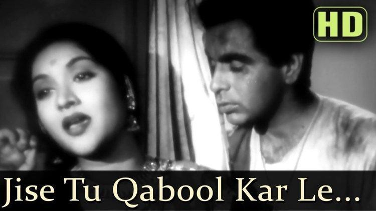 Devdas (1955 film) Jise Tu Qubool Karle HD Devdas 1955 Songs Dilip Kumar