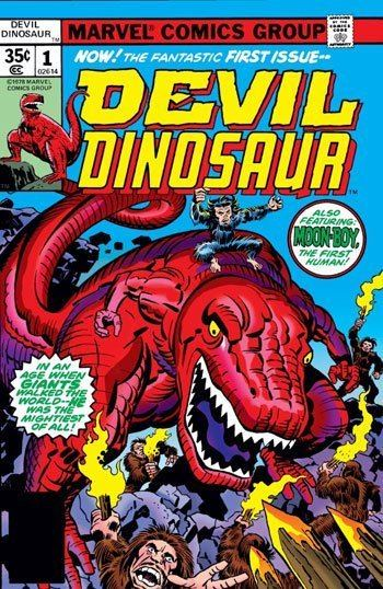 Devil Dinosaur Big Art and Big Ideas in Jack Kirby39s 39Devil Dinosaur39 PopMatters