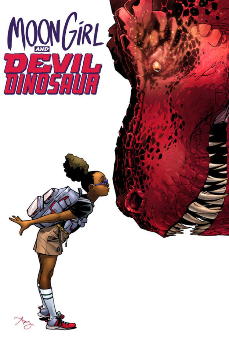 Devil Dinosaur How Moon Girl and Devil Dinosaur Became One Of Marvel39s Biggest And