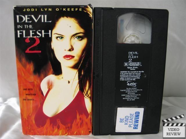 Devil in the Flesh 2 Devil in the Flesh 2 VHS Jodi Lyn OKeefe Jsu Garcia 783722151136