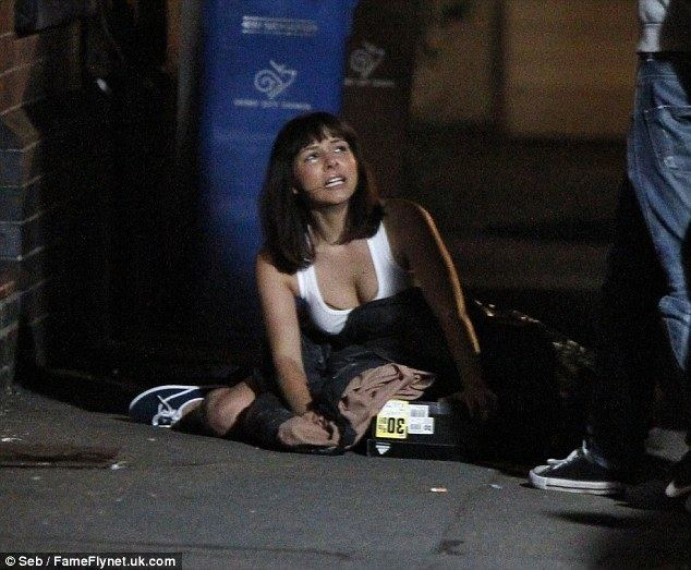 Devil's Tower (film) Roxanne Pallett gets kicked out of her house as she films scenes