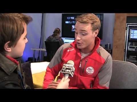 Devon Soltendieck Winter Olympics Brennan LaBrie kidreporter Interviews Devon